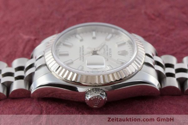 Used luxury watch Rolex Lady Datejust steel / white gold automatic Kal. 2235 Ref. 179174  | 162468 05