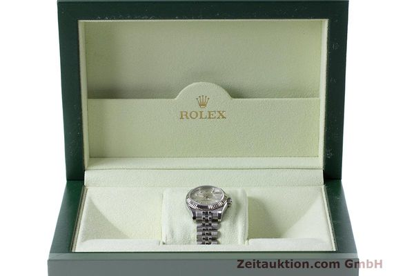 Used luxury watch Rolex Lady Datejust steel / white gold automatic Kal. 2235 Ref. 179174  | 162468 07