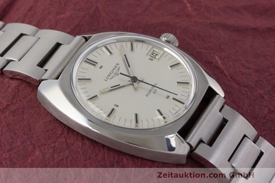 LONGINES ADMIRAL ACCIAIO CARICA MANUALE KAL. 6952 VINTAGE [162476]