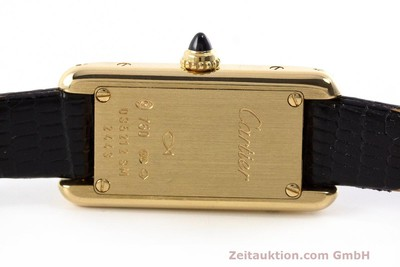 CARTIER ORO 18 CT QUARZO KAL. 028 ETA 280.002 [162478]