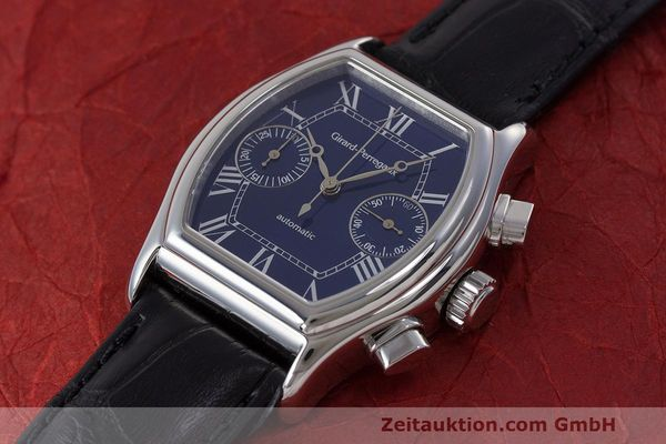 Used luxury watch Girard Perregaux Richeville chronograph steel automatic Kal. 2280-581 Ref. 2750  | 162482 01