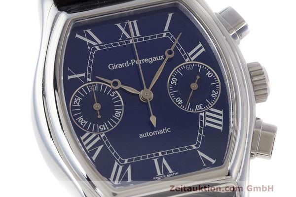Used luxury watch Girard Perregaux Richeville chronograph steel automatic Kal. 2280-581 Ref. 2750  | 162482 02
