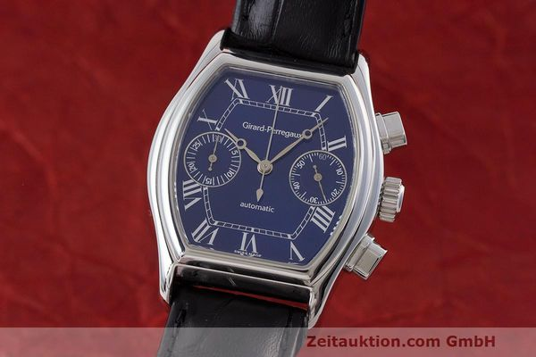 Used luxury watch Girard Perregaux Richeville chronograph steel automatic Kal. 2280-581 Ref. 2750  | 162482 04