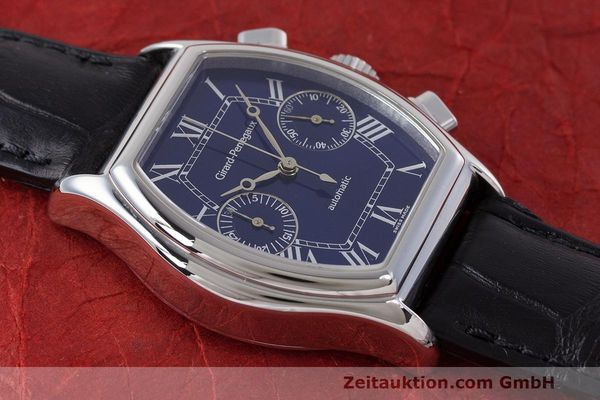 Used luxury watch Girard Perregaux Richeville chronograph steel automatic Kal. 2280-581 Ref. 2750  | 162482 13