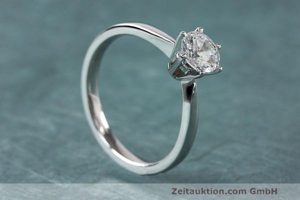 RING 950 PLATIN DIAMANT BRILLANT 0,72 CT DAMENRING DIAMOND WERT: 7386,- EURO [162484]