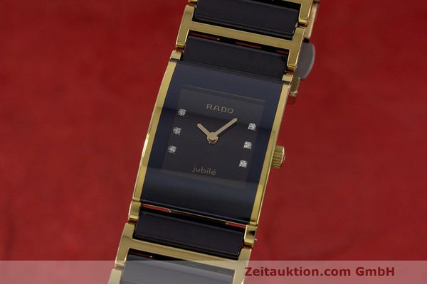 RADO LADY DIASTAR JUBILE GOLD / KERAMIK DIAMANTEN DAMEN 153.0789.9 VP: 1595,- Euro [162487]