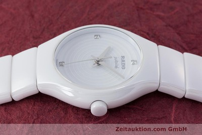 RADO LADY TRUE DIASTAR JUBILE KERAMIK DIAMANTEN DAMENUHR 318.0696.3 NP: 1125,- Euro [162488]