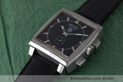 TAG HEUER MONACO CHRONOGRAPH STEEL MANUAL WINDING KAL. TH 2 ETA 7001 + QUARTZ LP: 4995EUR [162494]