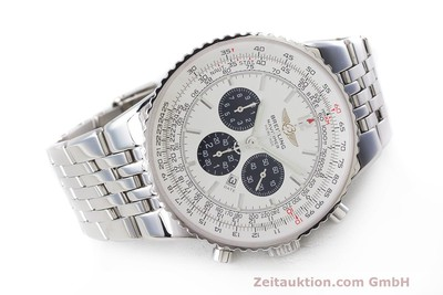 BREITLING NAVITIMER HERITAGE CHRONOGRAPH AUTOMATIK STAHL A35340 VP: 7860,- EURO [162498]