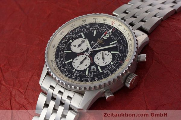 Used luxury watch Breitling Navitimer chronograph steel automatic Kal. B41 ETA 2892A2 Ref. A41322  | 162500 01