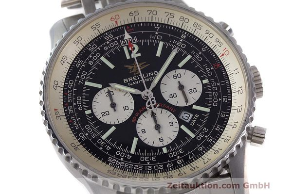 Used luxury watch Breitling Navitimer chronograph steel automatic Kal. B41 ETA 2892A2 Ref. A41322  | 162500 02