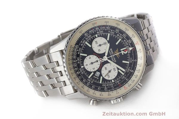 Used luxury watch Breitling Navitimer chronograph steel automatic Kal. B41 ETA 2892A2 Ref. A41322  | 162500 03