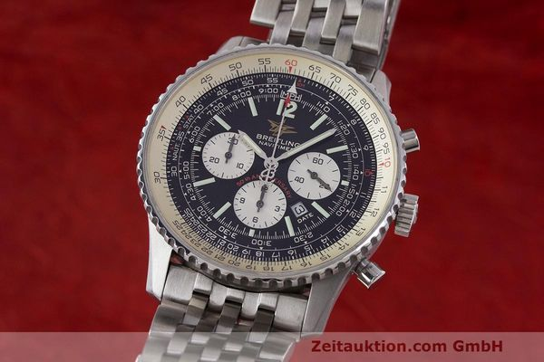 Used luxury watch Breitling Navitimer chronograph steel automatic Kal. B41 ETA 2892A2 Ref. A41322  | 162500 04