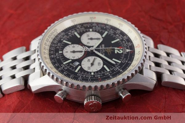 Used luxury watch Breitling Navitimer chronograph steel automatic Kal. B41 ETA 2892A2 Ref. A41322  | 162500 05
