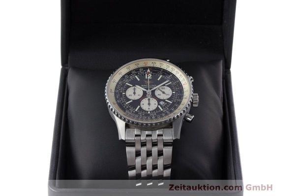Used luxury watch Breitling Navitimer chronograph steel automatic Kal. B41 ETA 2892A2 Ref. A41322  | 162500 07