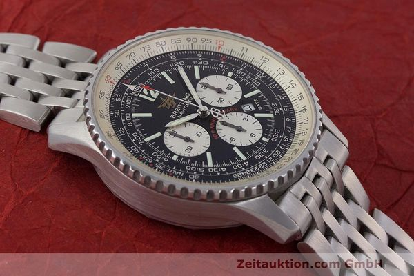 Used luxury watch Breitling Navitimer chronograph steel automatic Kal. B41 ETA 2892A2 Ref. A41322  | 162500 14