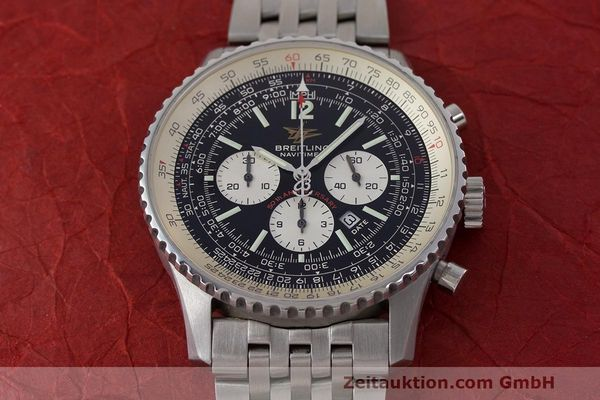 Used luxury watch Breitling Navitimer chronograph steel automatic Kal. B41 ETA 2892A2 Ref. A41322  | 162500 15
