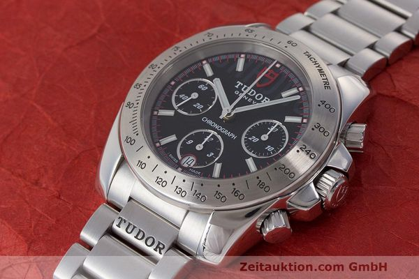 Used luxury watch Tudor Sport Chronograph chronograph steel automatic Kal. ETA Ref. 20300  | 162508 01