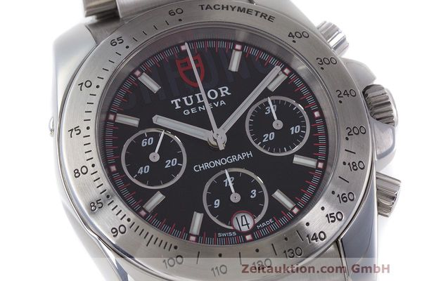 Used luxury watch Tudor Sport Chronograph chronograph steel automatic Kal. ETA Ref. 20300  | 162508 02