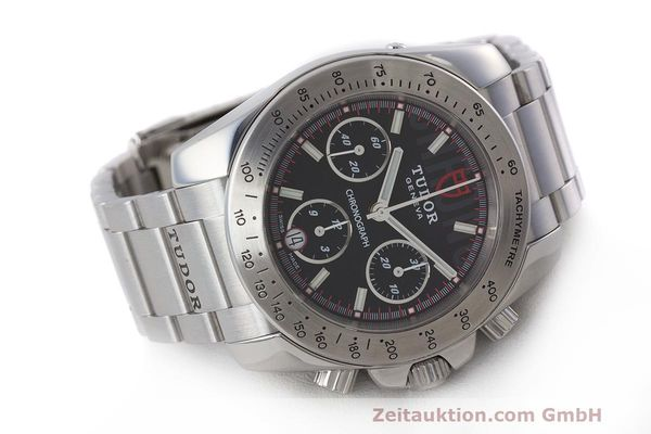 Used luxury watch Tudor Sport Chronograph chronograph steel automatic Kal. ETA Ref. 20300  | 162508 03