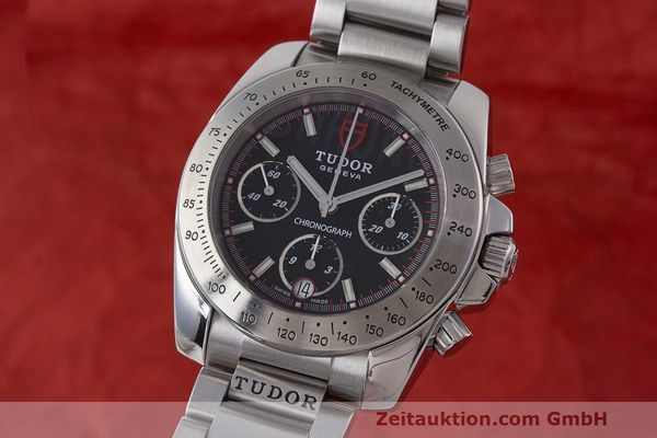 Used luxury watch Tudor Sport Chronograph chronograph steel automatic Kal. ETA Ref. 20300  | 162508 04