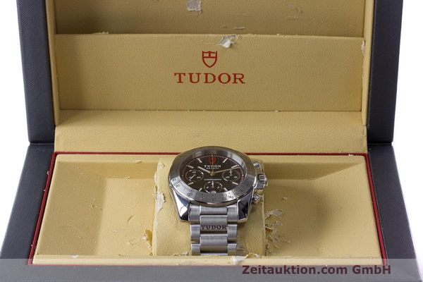 Used luxury watch Tudor Sport Chronograph chronograph steel automatic Kal. ETA Ref. 20300  | 162508 07