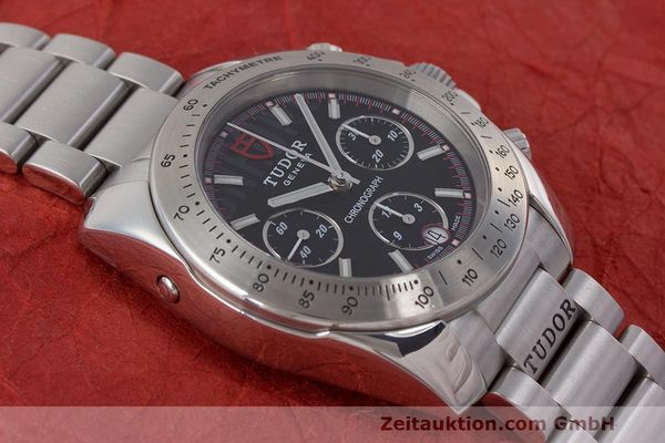 Used luxury watch Tudor Sport Chronograph chronograph steel automatic Kal. ETA Ref. 20300  | 162508 17