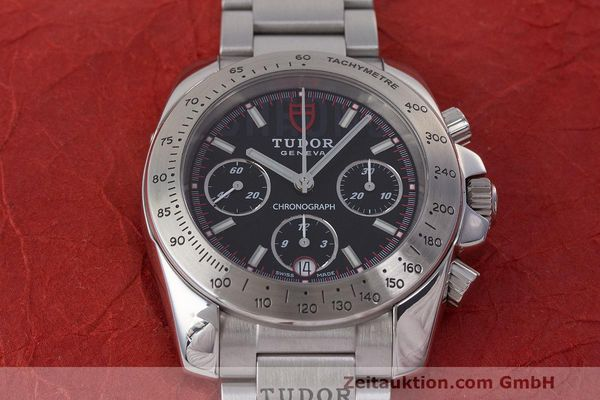 Used luxury watch Tudor Sport Chronograph chronograph steel automatic Kal. ETA Ref. 20300  | 162508 18