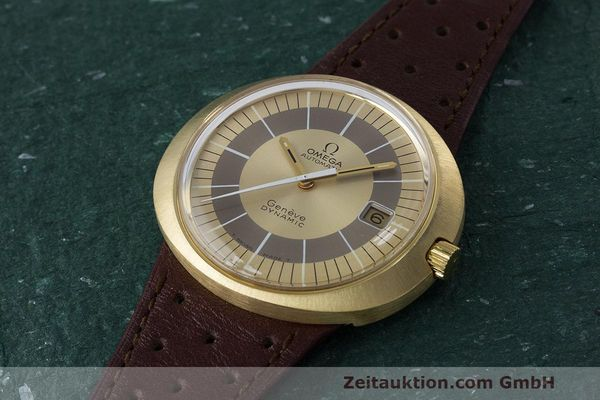 Used luxury watch Omega Dynamic 18 ct gold automatic Kal. 565 Ref. 135.033, 136.033, 165.039, 166.039 VINTAGE  | 162514 01