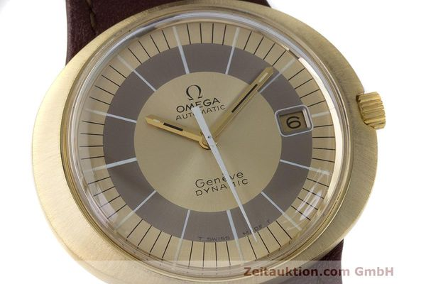 Used luxury watch Omega Dynamic 18 ct gold automatic Kal. 565 Ref. 135.033, 136.033, 165.039, 166.039 VINTAGE  | 162514 02