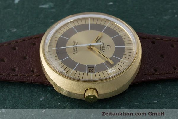 Used luxury watch Omega Dynamic 18 ct gold automatic Kal. 565 Ref. 135.033, 136.033, 165.039, 166.039 VINTAGE  | 162514 05