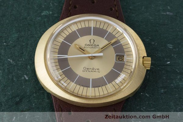 Used luxury watch Omega Dynamic 18 ct gold automatic Kal. 565 Ref. 135.033, 136.033, 165.039, 166.039 VINTAGE  | 162514 15