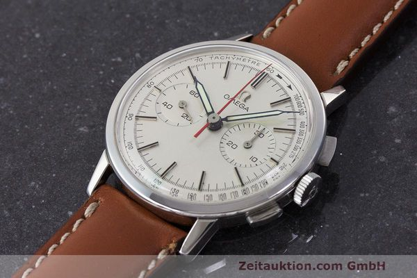 Used luxury watch Omega * chronograph steel manual winding Kal. 320 Ref. 101.009-63 VINTAGE  | 162515 01