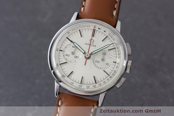 Used luxury watch Omega * chronograph steel manual winding Kal. 320 Ref. 101.009-63 VINTAGE  | 162515 04