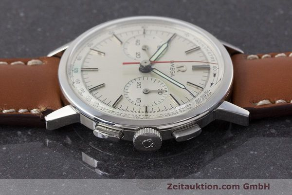 Used luxury watch Omega * chronograph steel manual winding Kal. 320 Ref. 101.009-63 VINTAGE  | 162515 05