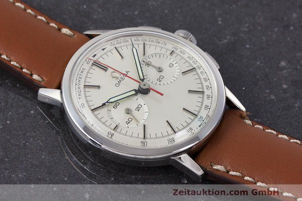 Used luxury watch Omega * chronograph steel manual winding Kal. 320 Ref. 101.009-63 VINTAGE  | 162515 13