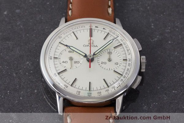 Used luxury watch Omega * chronograph steel manual winding Kal. 320 Ref. 101.009-63 VINTAGE  | 162515 14