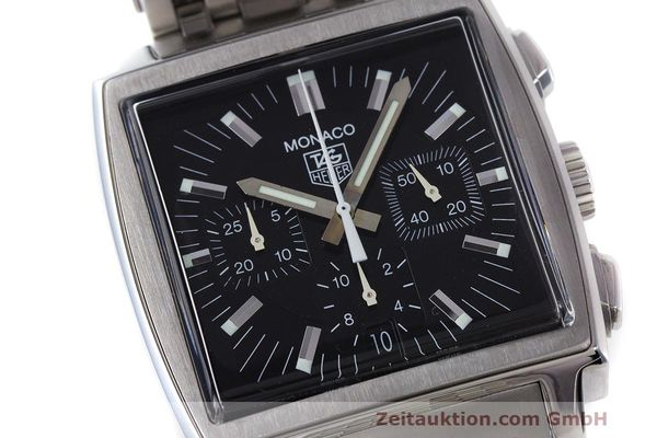 Used luxury watch Tag Heuer Monaco chronograph steel automatic Kal. 17 ETA 2894-2 Ref. CW2111-0  | 162516 02