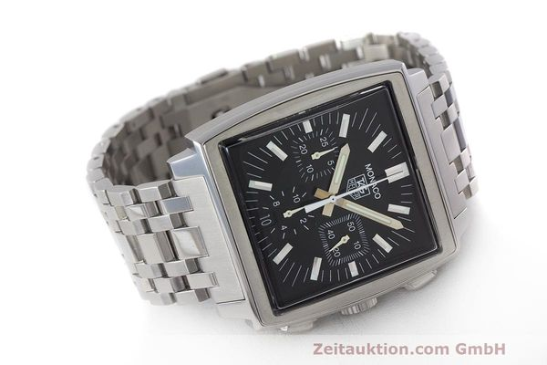 Used luxury watch Tag Heuer Monaco chronograph steel automatic Kal. 17 ETA 2894-2 Ref. CW2111-0  | 162516 03
