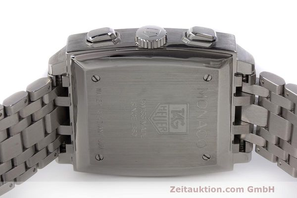 Used luxury watch Tag Heuer Monaco chronograph steel automatic Kal. 17 ETA 2894-2 Ref. CW2111-0  | 162516 09