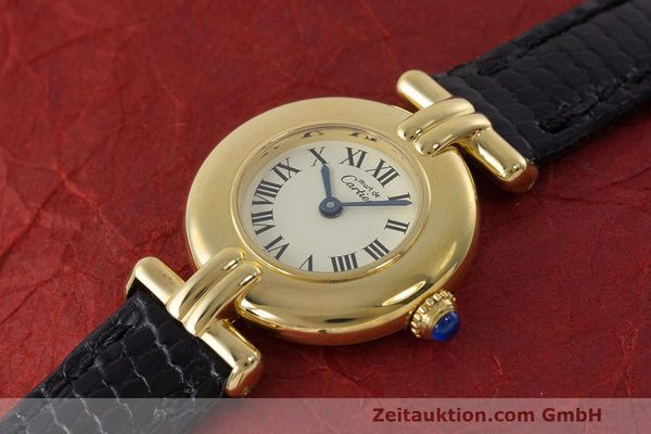 Used luxury watch Cartier Vermeil silver-gilt quartz Kal. 90  | 162517 01