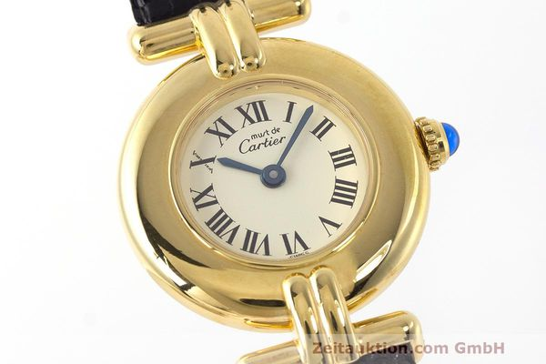 Used luxury watch Cartier Vermeil silver-gilt quartz Kal. 90  | 162517 02