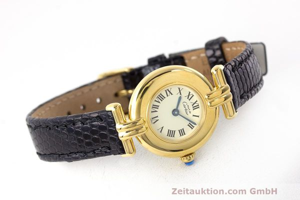 Used luxury watch Cartier Vermeil silver-gilt quartz Kal. 90  | 162517 03