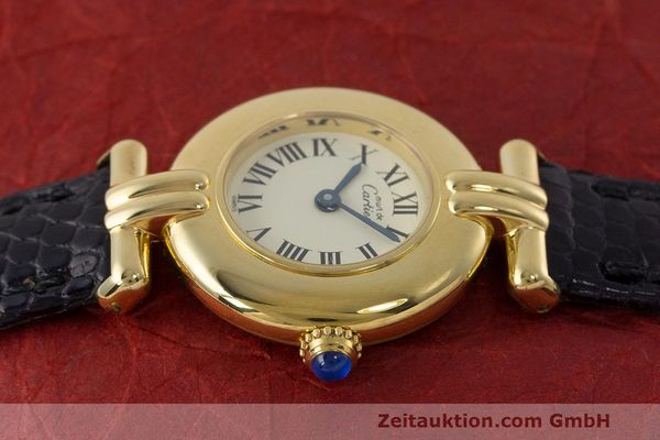 Used luxury watch Cartier Vermeil silver-gilt quartz Kal. 90  | 162517 05
