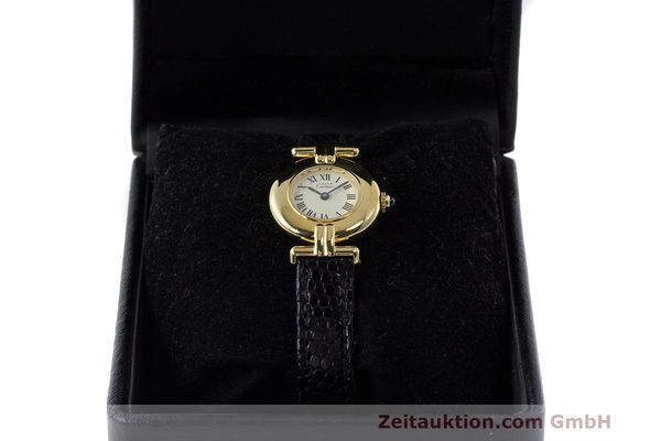 Used luxury watch Cartier Vermeil silver-gilt quartz Kal. 90  | 162517 07
