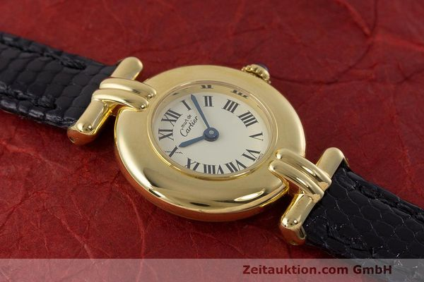 Used luxury watch Cartier Vermeil silver-gilt quartz Kal. 90  | 162517 13