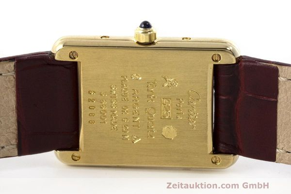 Used luxury watch Cartier Tank silver-gilt quartz Kal. 66  | 162519 09