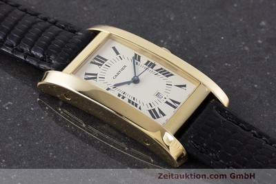 CARTIER TANK AMÉRICAINE OR 18 CT AUTOMATIQUE LP: 13200EUR [162529]