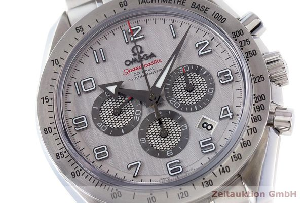 Used luxury watch Omega Speedmaster chronograph steel automatic Kal. 3313 Ref. 32110445002001  | 162535 02