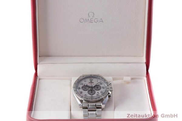 Used luxury watch Omega Speedmaster chronograph steel automatic Kal. 3313 Ref. 32110445002001  | 162535 07